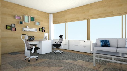 PNRC Chairs Office - Minimal - Office  - by Jun Dela Cruz