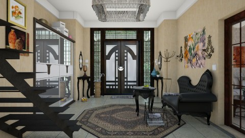 hall  - Modern - by Ida Dzanovic