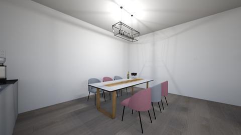 Dining room_Laura1 - Modern - Dining room  - by Bedrica