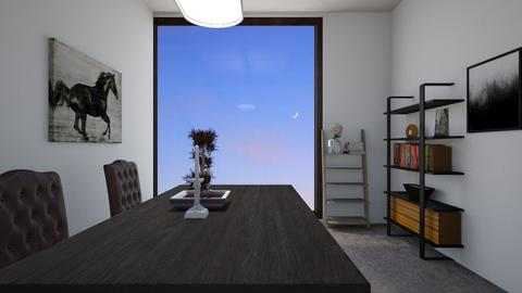 Scandinavian dining room - by Puppylover5673