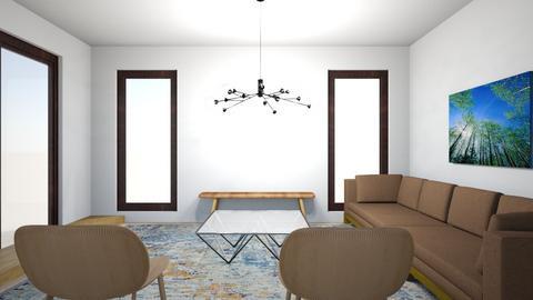 Full House 15b - Living room  - by gleidy