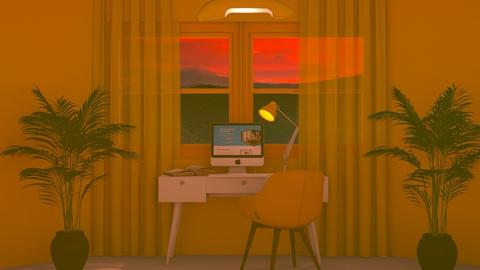 Yellow office - Office  - by luna selvaggia