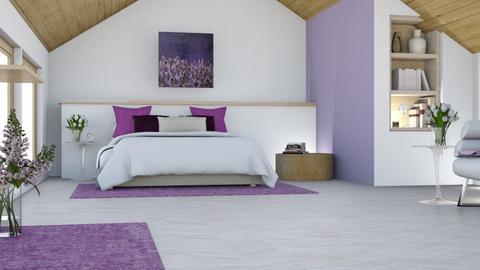 Lavender Bedroom - Bedroom  - by Meme6103