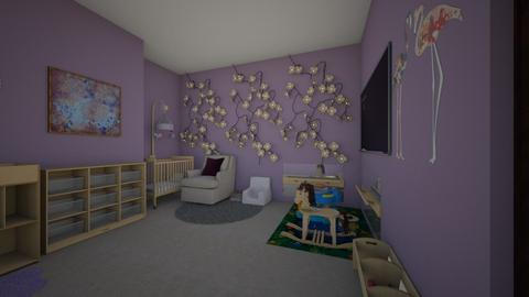 margo nursery - Kids room  - by reaganeure13