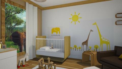 safari nursery - Kids room  - by miadesign
