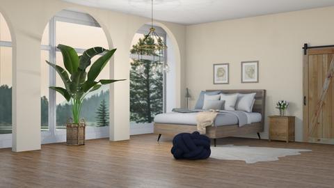 simple bedroom - Bedroom  - by DuckwithBoots