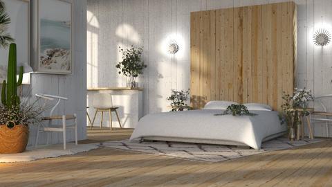 cute - Bedroom  - by izabella spark