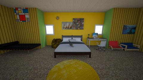 Levi Room P4a - Bedroom  - by CCMS