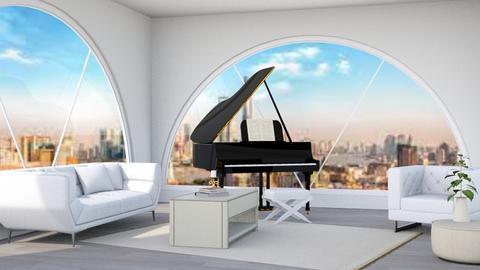 big windows - Modern - by WisdomandBright
