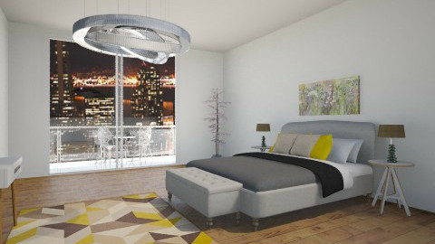 bedroom1 - by Kim Youn ji