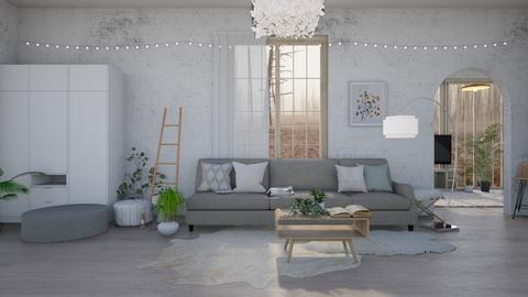 Scandinavian - Living room  - by Dragonets of Destiny
