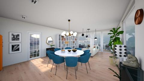 ZH III no island r table - Modern - Living room - by jessyctw