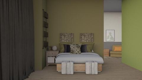 stone washed - Modern - Bedroom  - by CitrusSunrise