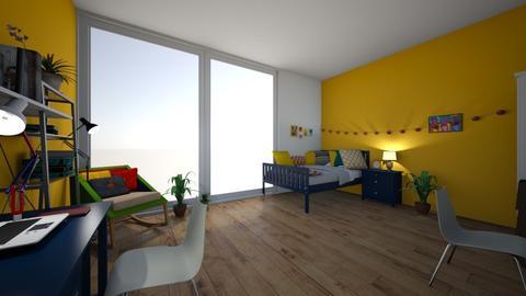 cosy bedroom - Bedroom  - by begin_girl