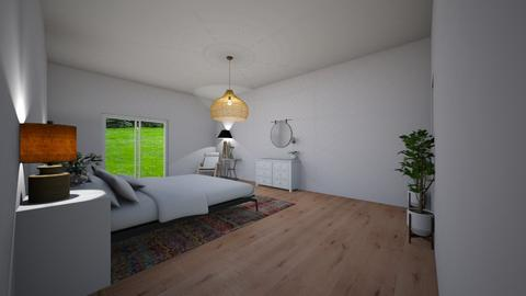 design 1 - Bedroom  - by CaoSil
