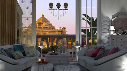 India living room - Living room  - by nat mi
