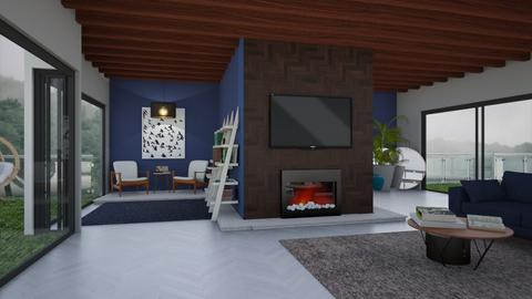 Mid Century Moder living  - Living room - by LiveItUp