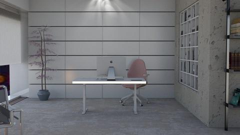 blurry - Office  - by nat mi