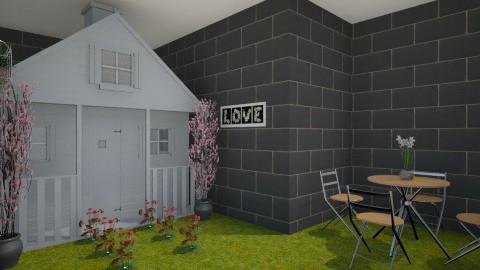 inside garden - Modern - Garden  - by bulteelkelly