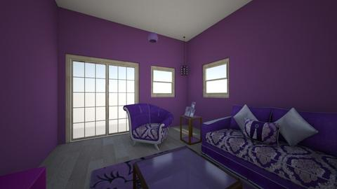 how about that purple - Classic - Living room - by katahie
