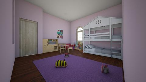 twins - Kids room  - by 1q2w3e4r5t