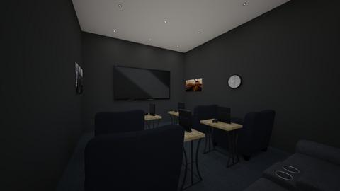 Cinema and gaming room  - Modern - by MLGA07