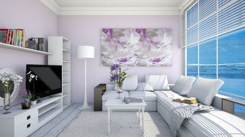 Beach House - Living room  - by anamarija00