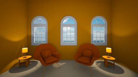 orange - Living room  - by olivia0000222333