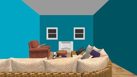 Living Office - Modern - Living room - by Flower_25
