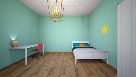 Girls room  - Bedroom  - by Sophia_