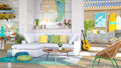 Surf Living - Living room  - by LB1981