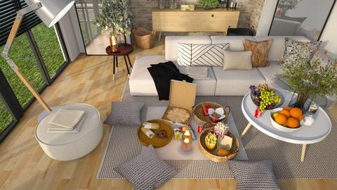 Inside Picnic Party - Living room  - by MiaM