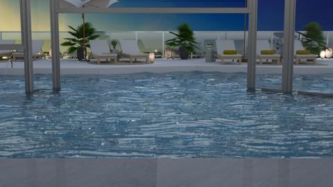 Hotel Pool Template - by Annathea