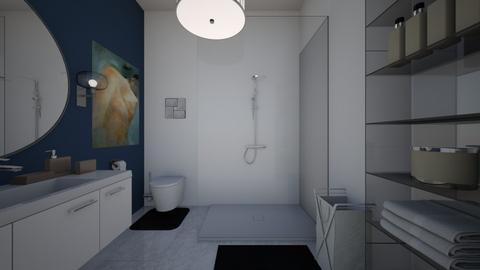 simple bathroom - Modern - Bathroom  - by haileymilby