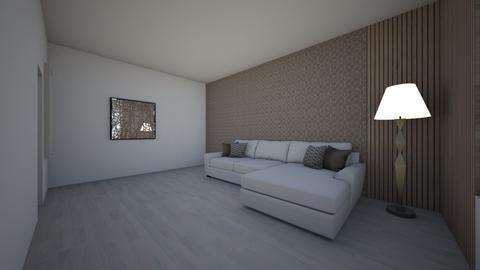 plan parter - Living room - by Bianca Chirita