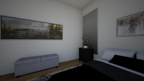 Natalia room design - Bedroom  - by NataliaCalobeer