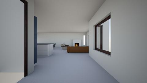 Great room - Modern - Living room  - by mariacycles