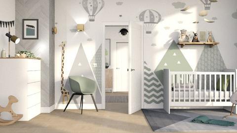 Neutral Nursery - Kids room  - by tokyio