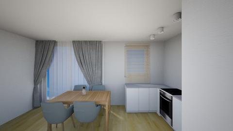 Kuchnia 5c - Living room - by KatarzynaLaszczyk