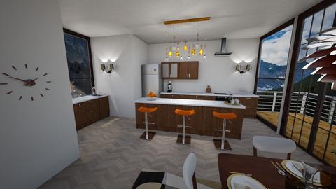 MidCentury Modern kitchen - Kitchen - by veroval