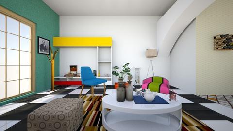 60s space age futuristic - Retro - Kitchen  - by ollyb2