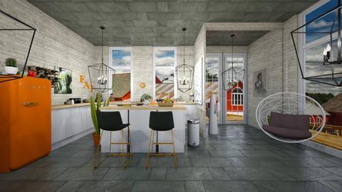 Farm Kitchen - Rustic - Kitchen - by Yui Soo