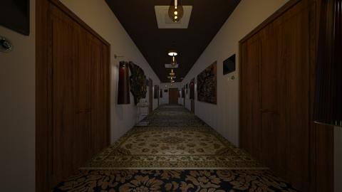 hallway hotel - Minimal - by Ravina_9069