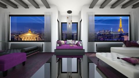 Bienvenue a Paris - Living room - by deleted_1507866329_Daniela Irimia