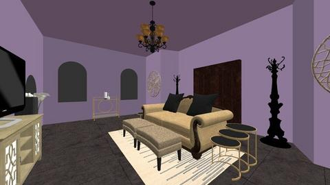 Epic Room - Classic - Living room  - by LilianaZ