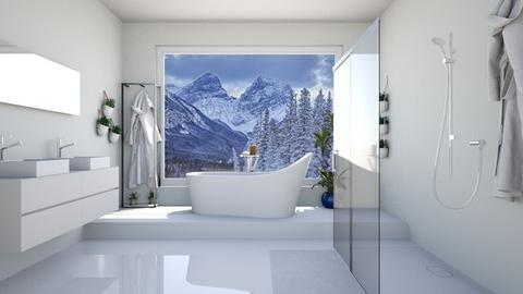 Freestanding Bath - Bathroom  - by Tzed Design