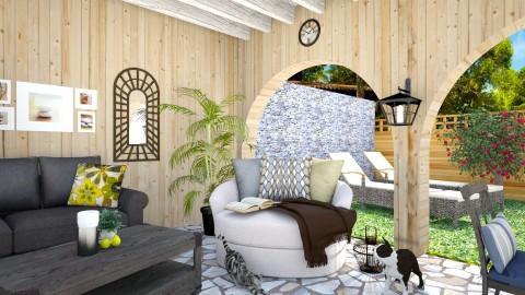 backyard - Modern - Garden  - by Inna_Inas