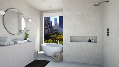 Minimalist - Bathroom  - by Eldora
