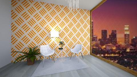 Orange Apartment  - Living room  - by Faith Forever