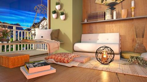 Serenity - Bedroom  - by Feeny